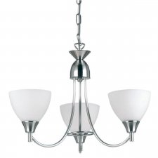 Endon Alton 3 Light Pendant 60W 1805-3SC
