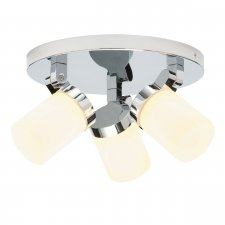 Endon Cosmo 3 Light Round Light IP44 18W 39617
