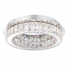 Endon Swayze 1 Light Flush 16W 61340
