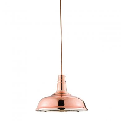 Endon Jackman 1 Light Pendant 60W 61705