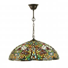 Interiors 1900 Anderson Large 3 Light Pendant 60W 63902