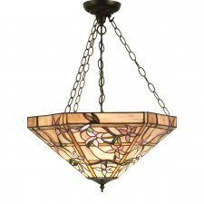 Interiors 1900 Clematis Large Inverted 3 Light Pendant 60W 64019
