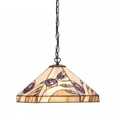 Interiors 1900 Damselfly Medium 1 Light Pendant 60W 64037