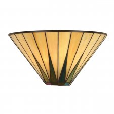 Interiors 1900 Dark Star Wall Light 40W 64046