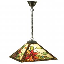Interiors 1900 Lelani Medium 1 Light Pendant 60W 64228