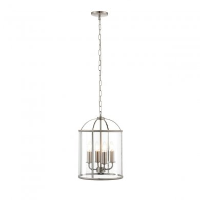 Endon Lambeth 4 Light Pendant 40W 70324