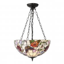 Interiors 1900 Butterfly Medium Inverted 3 Light Pendant 60W 70745