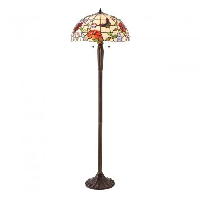 Interiors 1900 Butterfly Floor Lamp 60W 70944