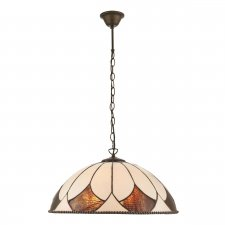 Interiors 1900 Aragon Large 3 Light Pendant 60W 74340