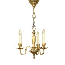 Interiors 1900 Asquith 3 Light Pendant 40W ABY1002P3