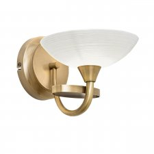 Endon Cagney 1 Light Wall Light 33W CAGNEY-1WBAB