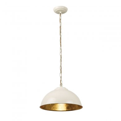 Endon Colman 1 Light Pendant 60W COLMAN-CR