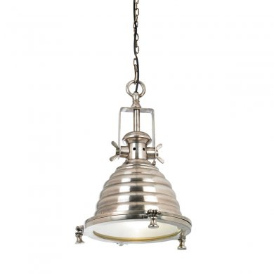 Endon Gaskell 1 Light Pendant 40W EH-GASKELL
