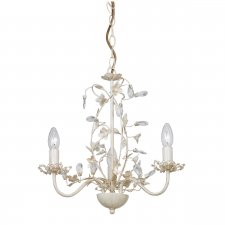 Endon Lullaby 3 Light Pendant 60W LULLABY-3CR