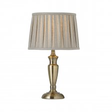 Endon Oslo 310mm Base Only Table Lamp 60W OSLO-S-AN