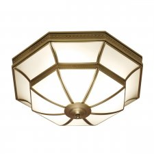 Interiors 1900 Balfour 4 Light Flush Light 60W SN02FL47